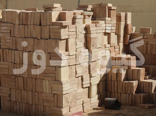 خرید آجر خشتی برای کف