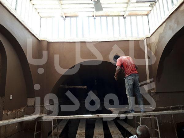 ساخت دیوار باغ ایرانی
