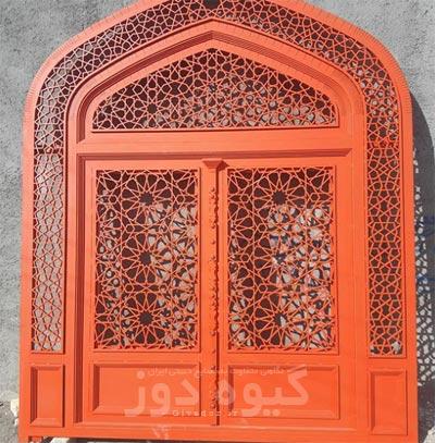 درب سنتی گره چینی مسجدی