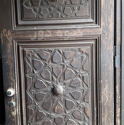درب های معرق آهنی
