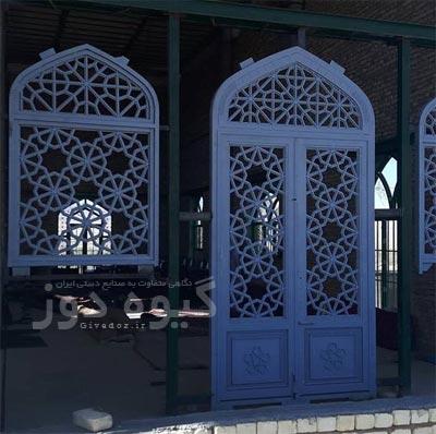 ساخت درب ورودی مسجد