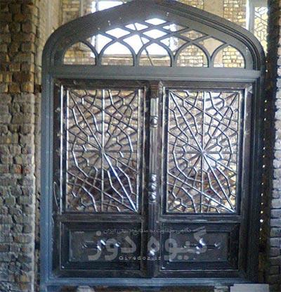 ساخت درب بزرگ مسجدی