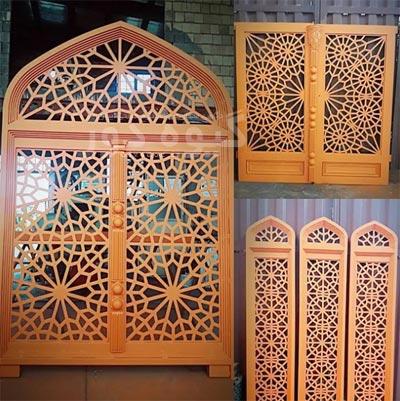 طراحی در و پنجره برای مسجد