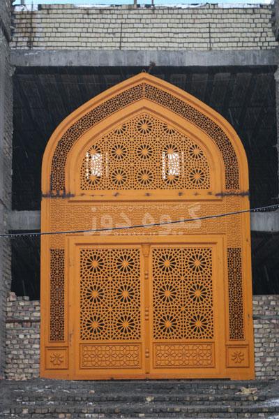 درب آهنی مسجدی
