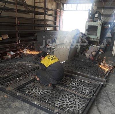 کارگاه پنجره سازی مسجد