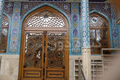 طرح گره چینی درب مسجدی