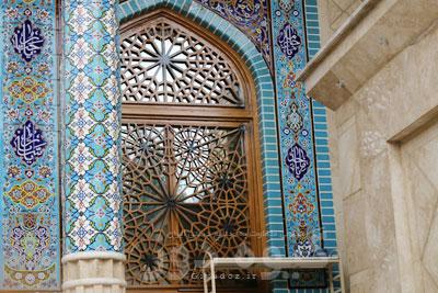 انواع درب اهنی مسجدی