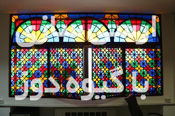 طرح پنجره ارسی