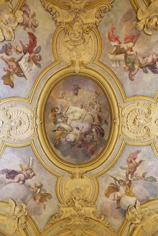 نقاشی فرشته سقف منزل