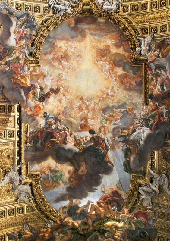 نقاشی فرشته سقف پذیرایی