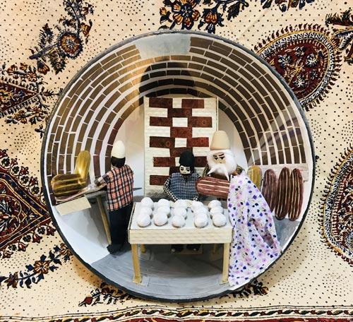 تابلو سنتی طرح نانوایی