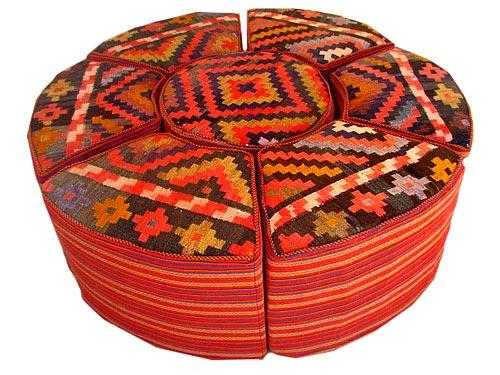 مبلمان سنتی گلیمی