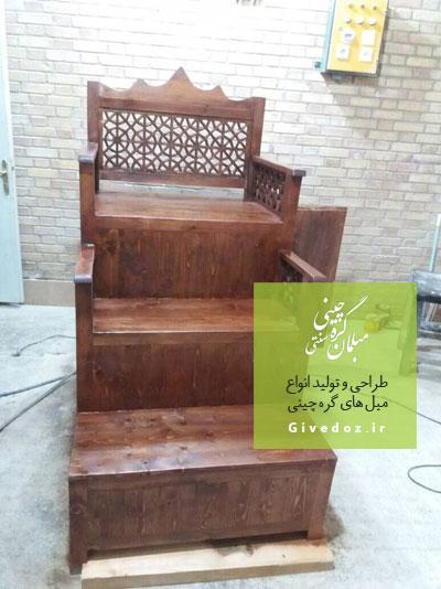 منبر گره چینی برای مسجد