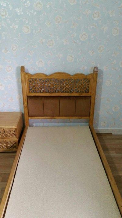 تختخواب سنتی گره چینی