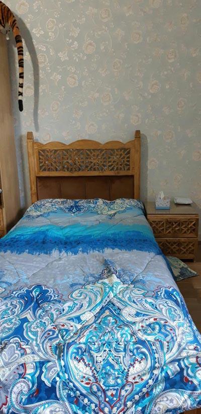 تختخواب سه نفره گره چینی