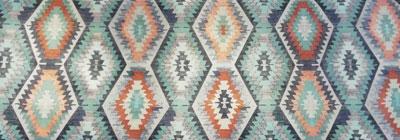 خرید پارچه سنتی طرح کاشی