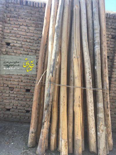 خرید تیر چوبی سقفی