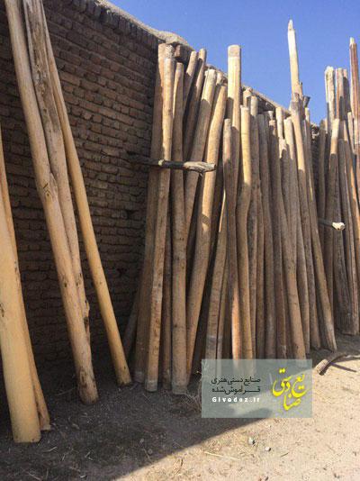 مرکز فروش تیر چوبی برق