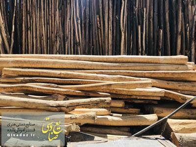 فروش تیر چوبی سقف در تهران