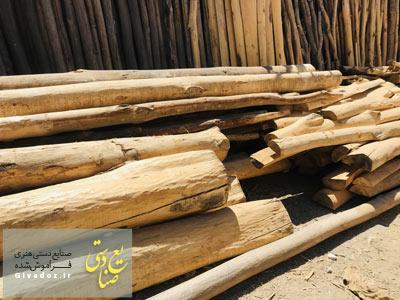 قیمت تیر چوبی سقف در تهرن