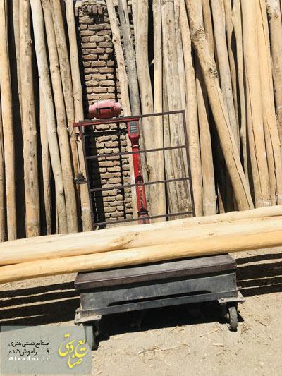 تیر چوبی بلند