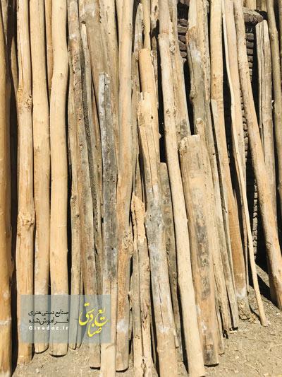 تیر چوبی بزرگ