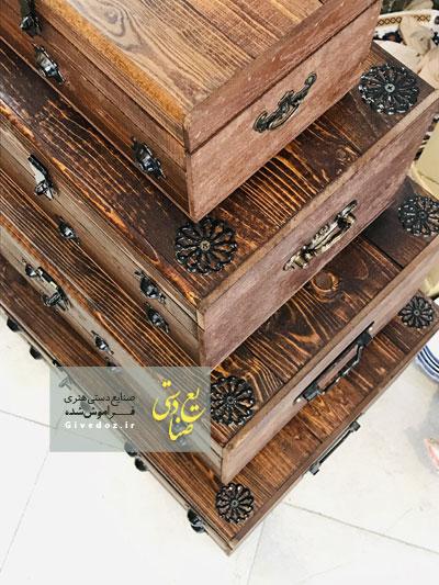 فروش صندوقچه چوبی بزرگ