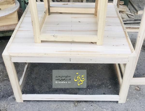 خرید کرسی چوبی سنتی 100*100