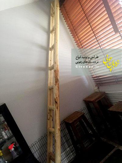 نردبان 3 متری برای داخل خانه