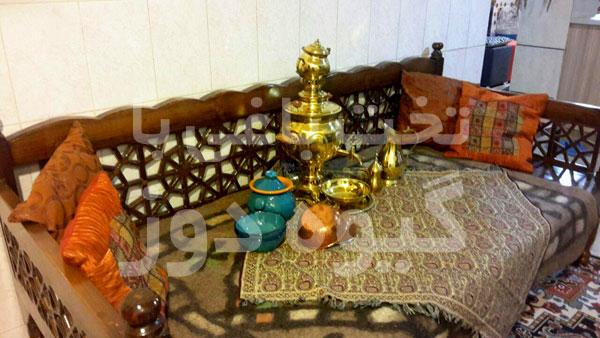 خرید تخت سنتی چوبی در تهران
