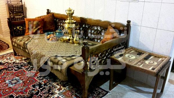 فروش تخت سنتی چوبی در تهران