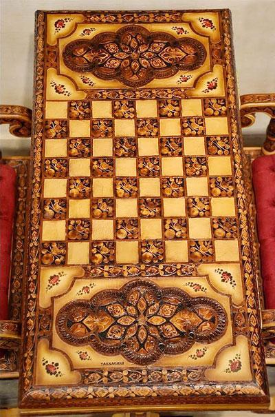 قیمت میز و صندلی تخته نرد