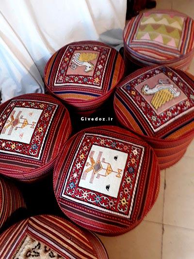خرید صندلی سنتی گلیمی