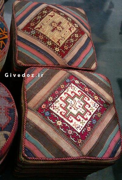 صندلی های سنتی گلیمی