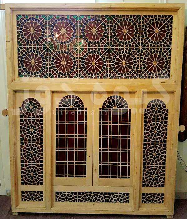 فروش درب سنتی شیشه رنگی