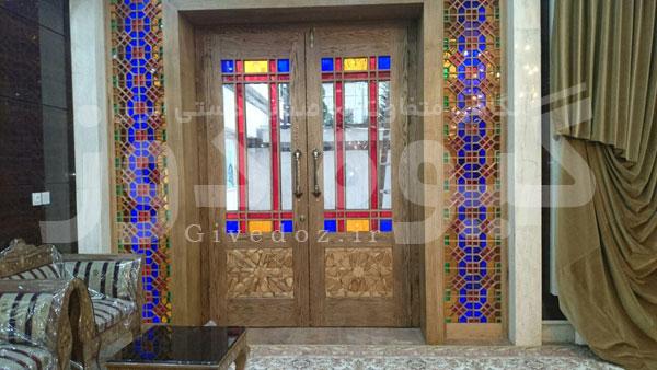 خرید درب سنتی مسجد در تهران
