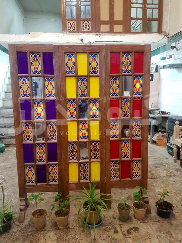 خرید پنجره سنتی دوجداره در تهران