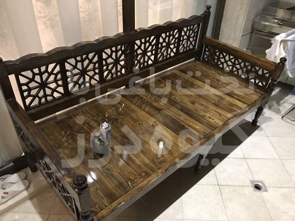 خرید تخت برای باغ