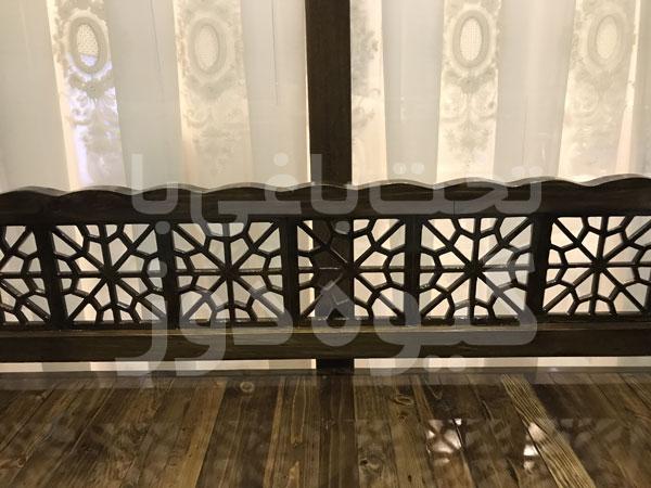قیمت تخت باغی در پل چوبی