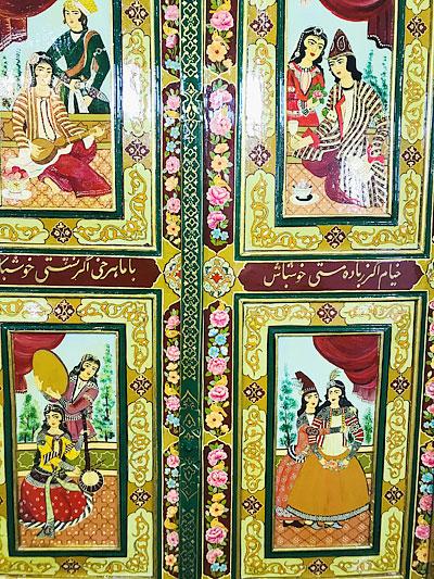 خرید درب قاجاری
