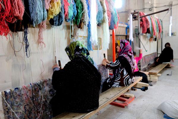 طراحی فرش دست باف ایرانی